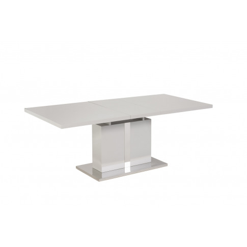 Boston 1.6m Ext. Grey High Gloss Dining Table