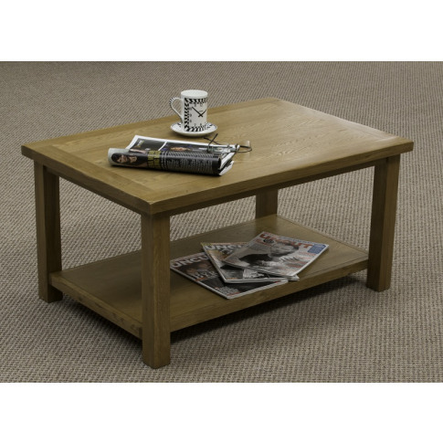 Bradbury Oak Coffee Table