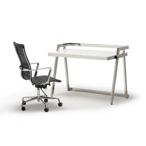Cambridge Stainless Steel Office Desk