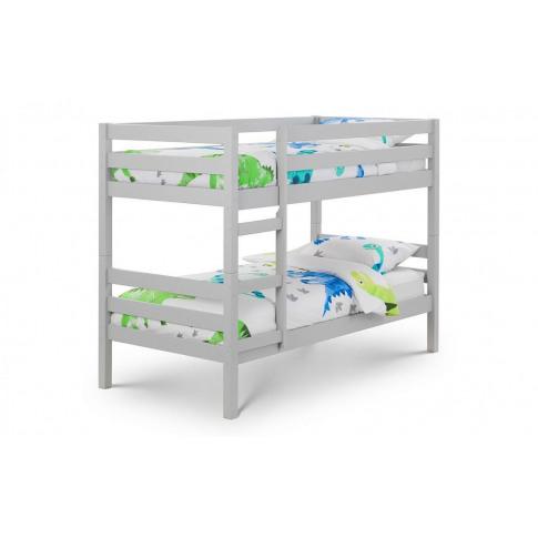Julian Bowen Camden Dove Grey 3ft Single Bunk Bed