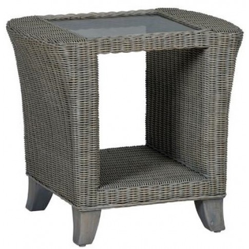 Cane Siena Side Table