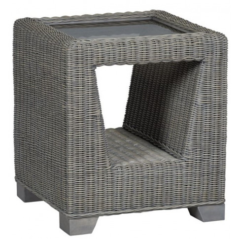 Cane Trento Side Table