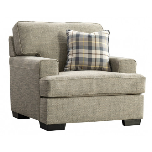 Canterbury 1 Seater Beige Fabric Armchair