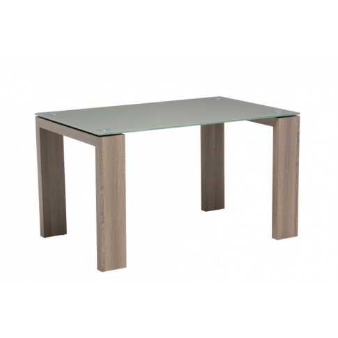 Casa Grey Glass 130cm Rectangular Dining Table