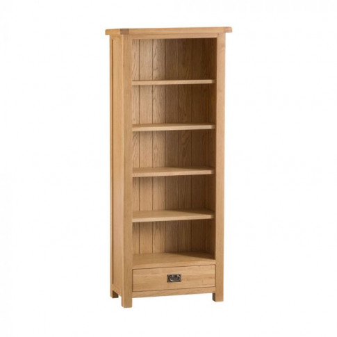 Como Oak Medium Bookcase
