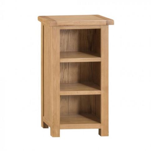 Como Oak Narrow Bookcase