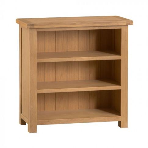 Como Oak Small Bookcase
