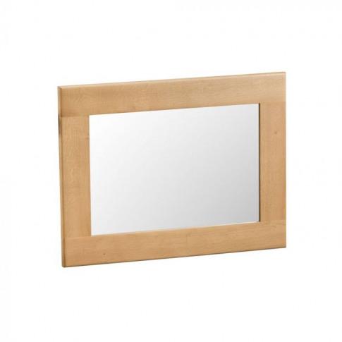 Como Oak Small Wall Mirror