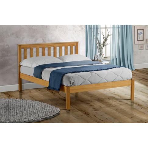 Denver Pine 5ft Kingsize Low End Bed