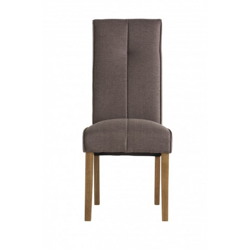 Denver Taupe Fabric Dining Chair