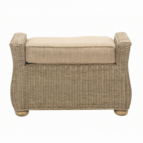 Desser Corsica Footstool And Cushion
