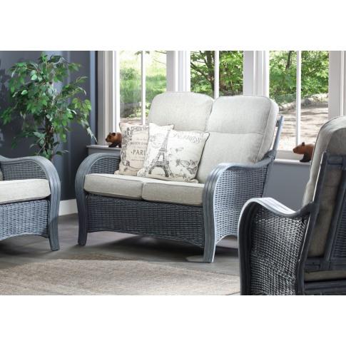 Desser Turin Grey 2 Seater Sofa