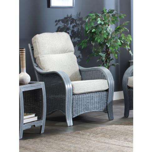Desser Turin Grey Armchair