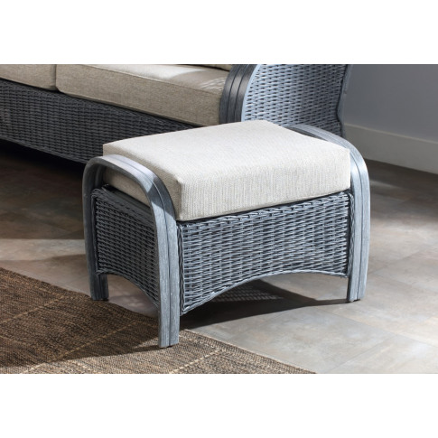 Desser Turin Grey Footstool