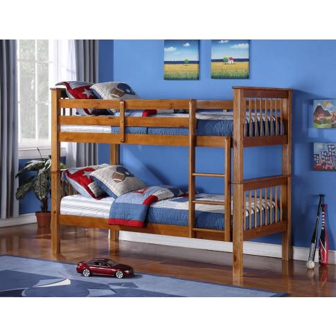 Devon 3ft Single Pine Bunk Bed
