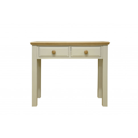 Dagenham Painted Oak 2 Drawer Dressing Table