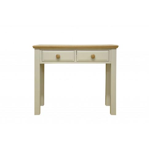 Dagenham Painted Oak 2 Drawer Dressing Table
