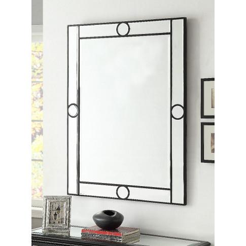 Henley Black 4x3 Mirror