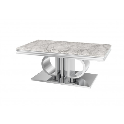 Fairmont Donatello Grey Marble Coffee Table