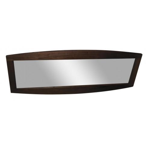 Fairmont Doulton Walnut High Gloss Wall Mirror