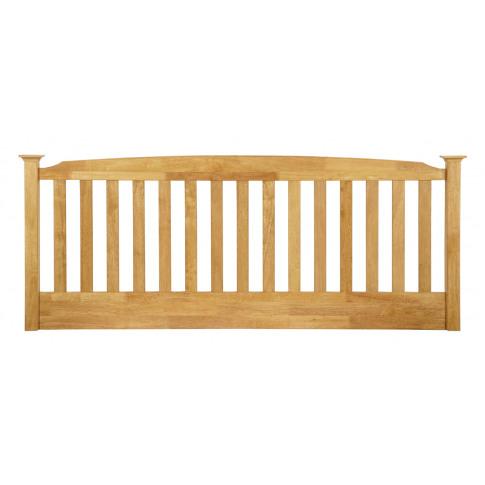 Serene Eleanor 3ft Single Honey Oak Wooden Headboard
