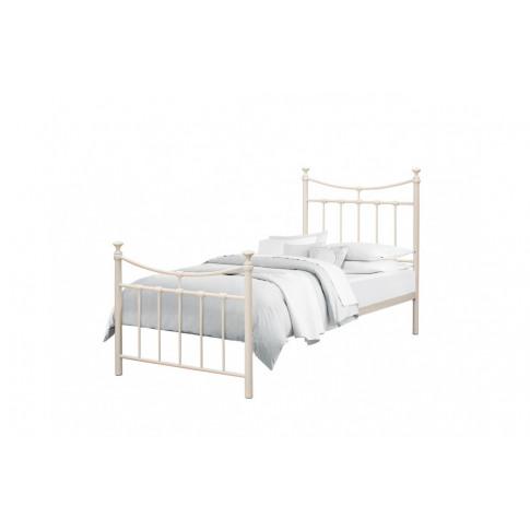 Birlea Emily 3ft Single Cream Metal Bed