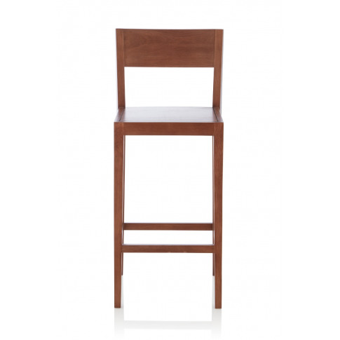 Ernest Walnut Fixed Counter Height Barstool