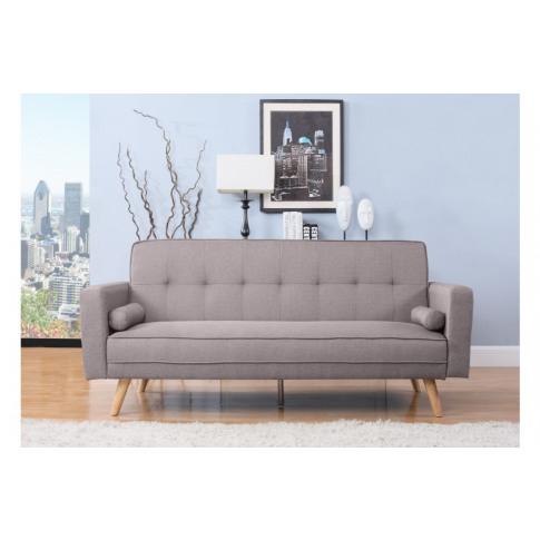 Birlea Ethan Grey Fabric Sofa Bed