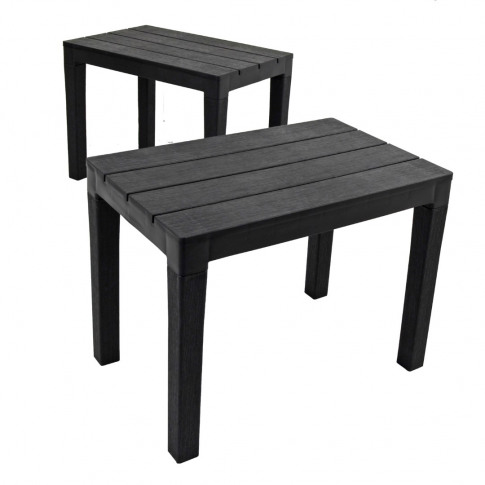 Europa Roma Grey Bench Pack Of 2