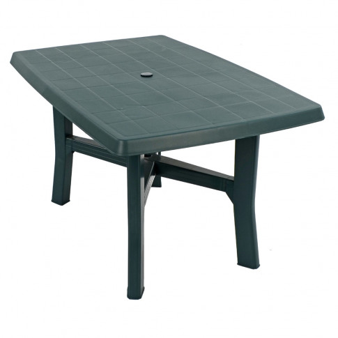 Europa Taranto 140cm Green Rect. Dining Table