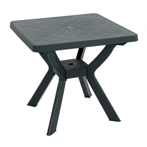 Europa Turin 80cm Green Square Dining Table