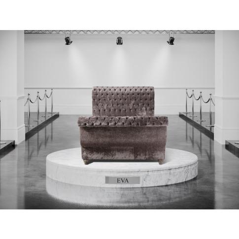 Oliver & Sons Eva 5ft Kingsize Fabric Bed
