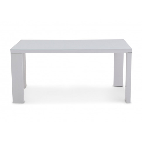 Fairmont Lucca White High Gloss Dining Table + 6 Gab...