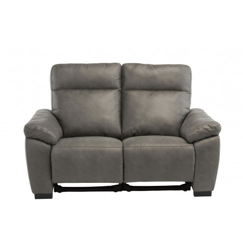Farrow Grey Fabric 2 Seater Electric Recliner Sofa