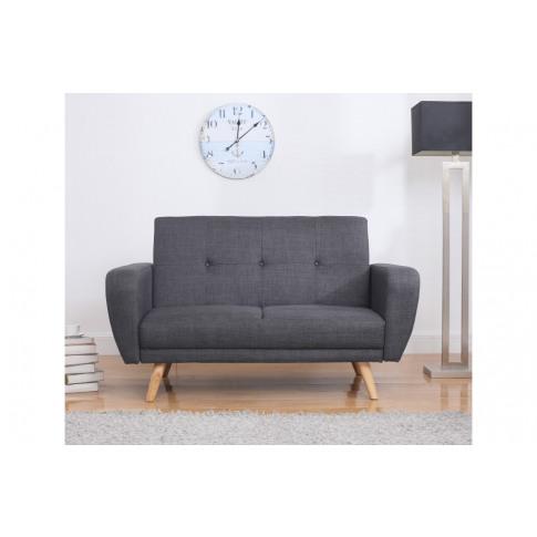 Birlea Farrow Grey Fabric Sofa Bed
