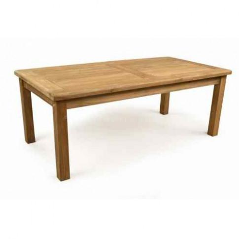 Rectangular 120cm Teak Coffee Table