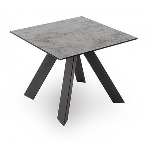 Flavia Grey Ceramic Side Table