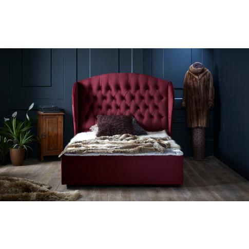 Oliver & Sons Florence 6ft Super Kingsize Fabric Bed