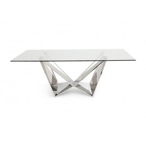 Fairmont Florentina 200cm Glass Dining Table