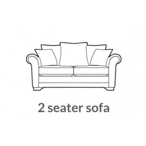 Alstons Franklin 2 Seater Fabric Sofa