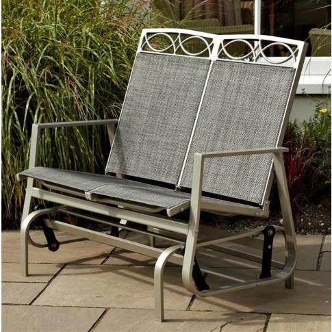Leisuregrow Gold Coast 2 Seat Glider Garden Chair