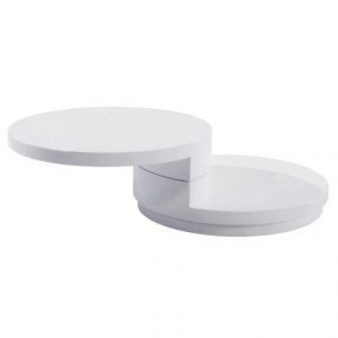 Greenapple Giro White Gloss Coffee Table Ly0621w