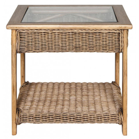 Habasco Verona Side Table In Natural Wash
