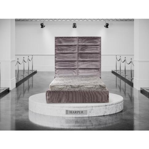 Oliver & Sons Harper 6ft Super Kingsize Fabric Bed
