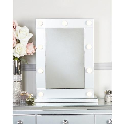 Hatton Grey Broadway 9 Light Vanity Mirror