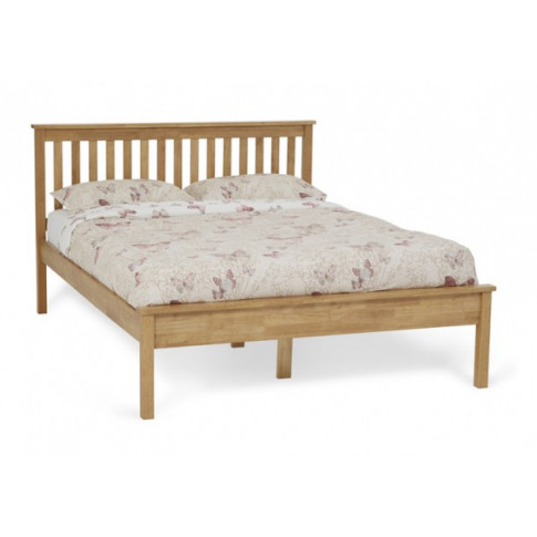 Serene Heather 5ft King Size Honey Oak Bed