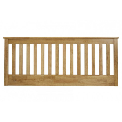 Serene Heather 5ft King Size Honey Oak Headboard