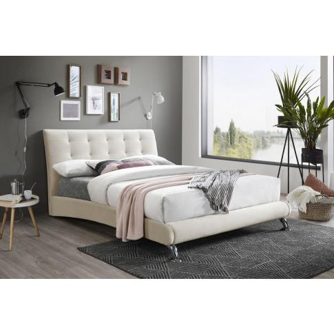 Hemlock Warm Stone 4ft6 Double Bed