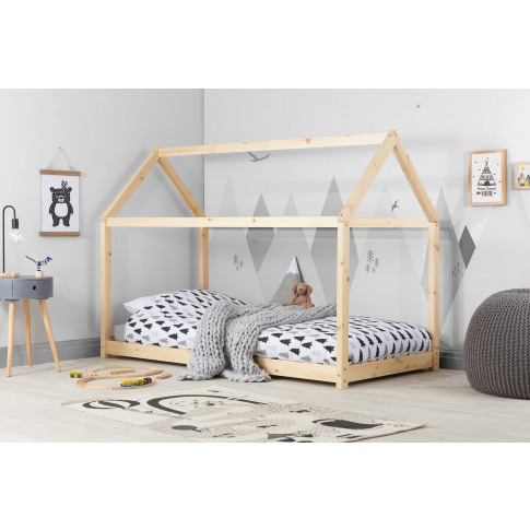House Natural Pine Kids Bed