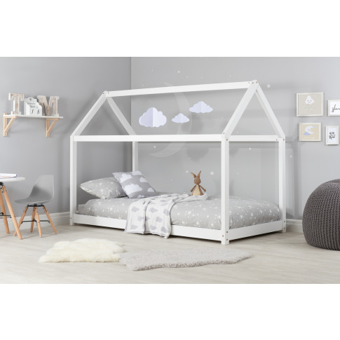 House White Pine Kids Bed